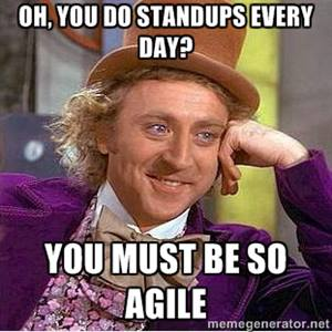agile stand up meetings
