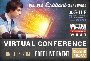 virtual conference better software agile development west